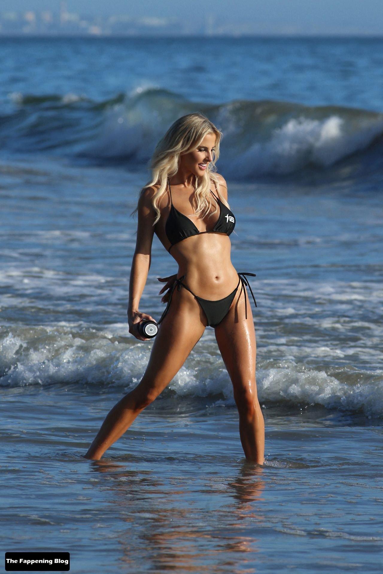 Brennah Black Sexy Bikini 8