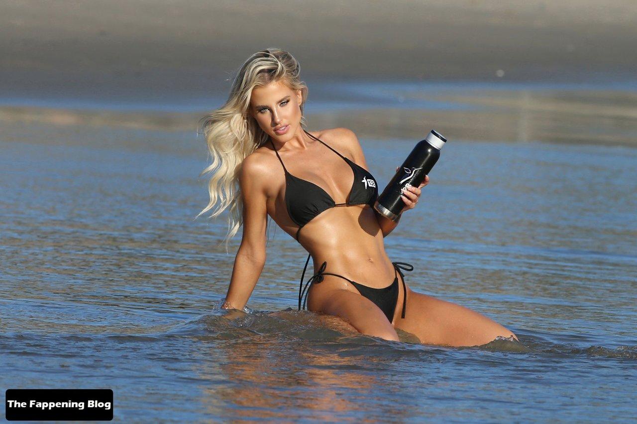 Brennah Black Sexy Bikini 12