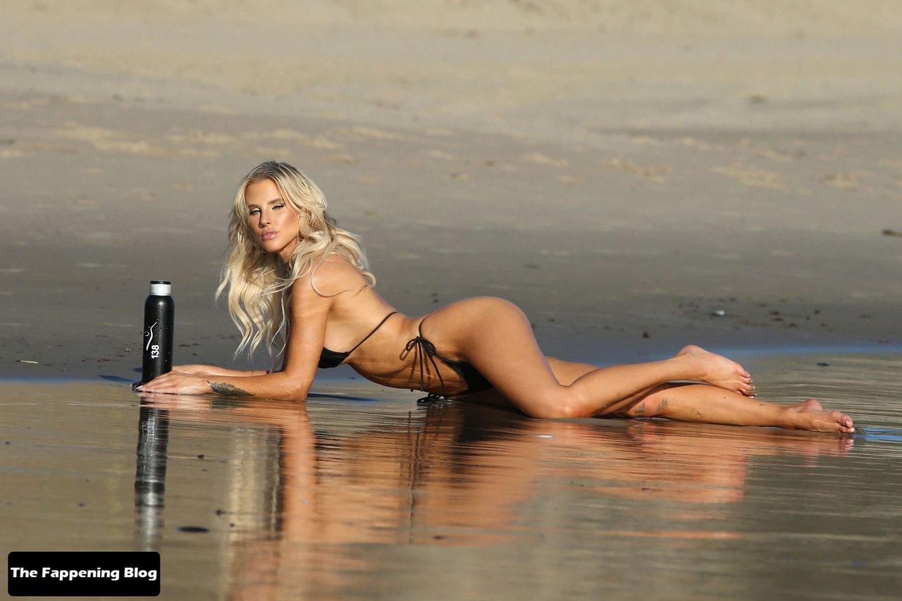 Brennah Black Sexy Bikini 31