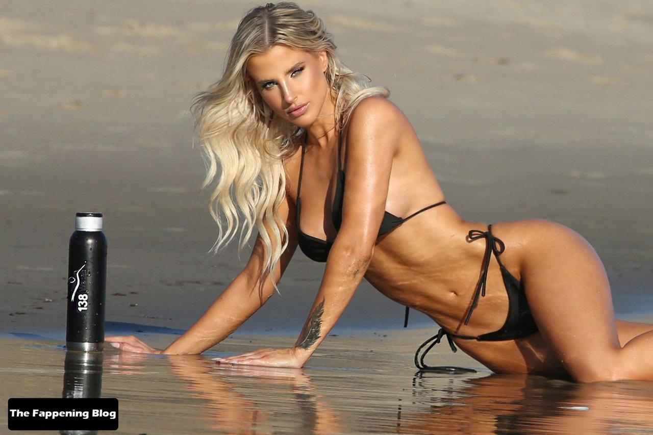 Brennah Black Sexy Bikini 45