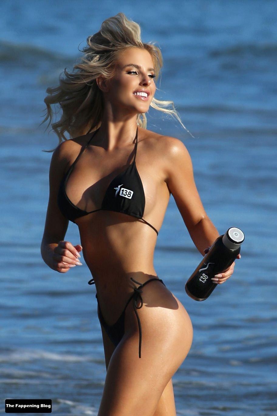 Brennah Black Sexy Bikini 58