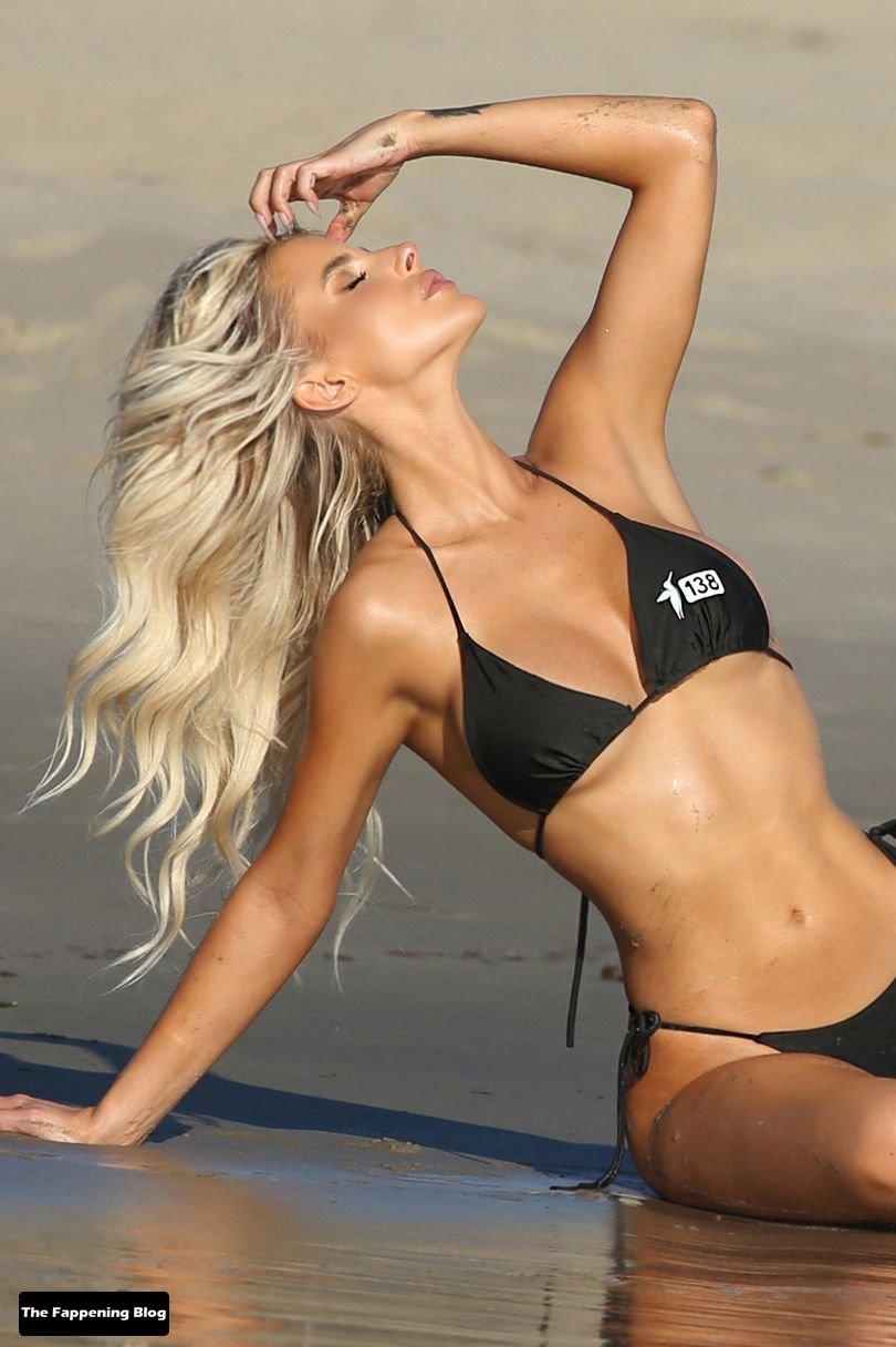 Brennah Black Sexy Bikini 61