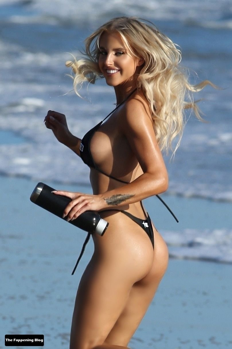Brennah Black Sexy Bikini 63