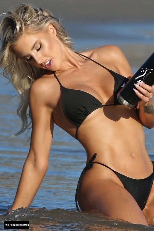 Brennah Black Sexy Bikini 68