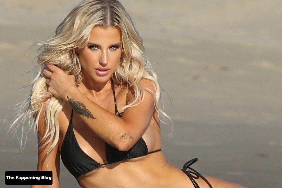 Brennah Black Sexy Bikini 74