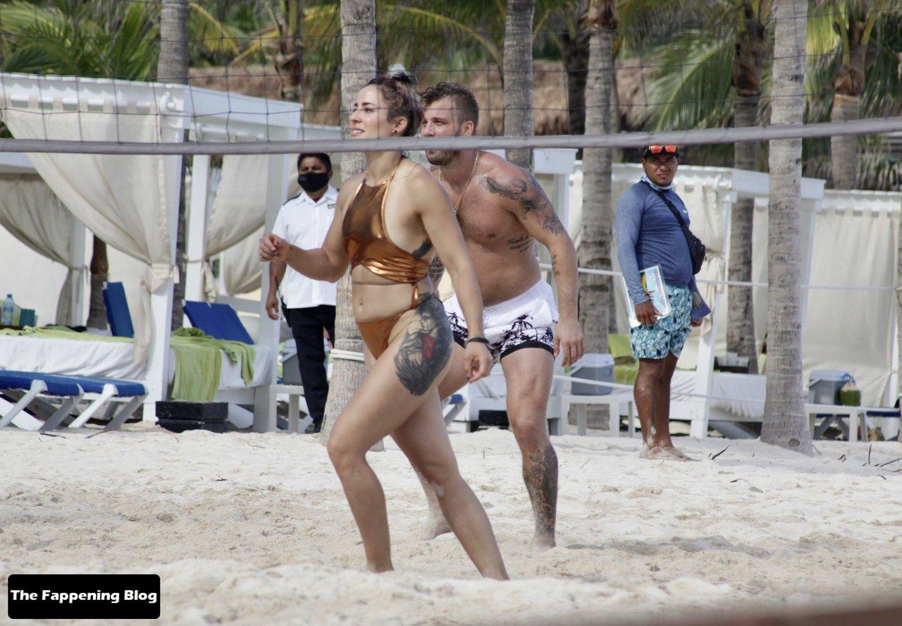 Cara Maria Sorbello on Beach 1