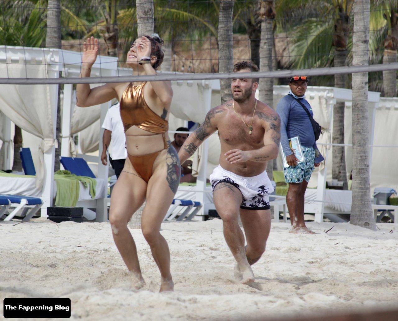 Cara Maria Sorbello on Beach 3