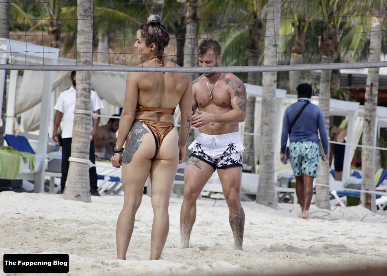 Cara Maria Sorbello on Beach 5