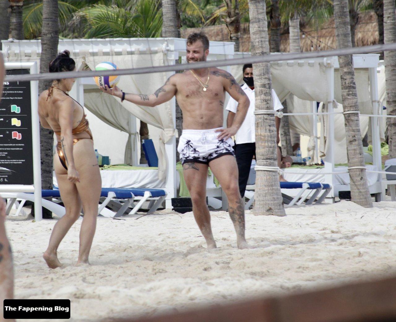 Cara Maria Sorbello on Beach 9