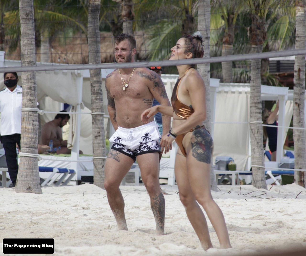 Cara Maria Sorbello on Beach 17