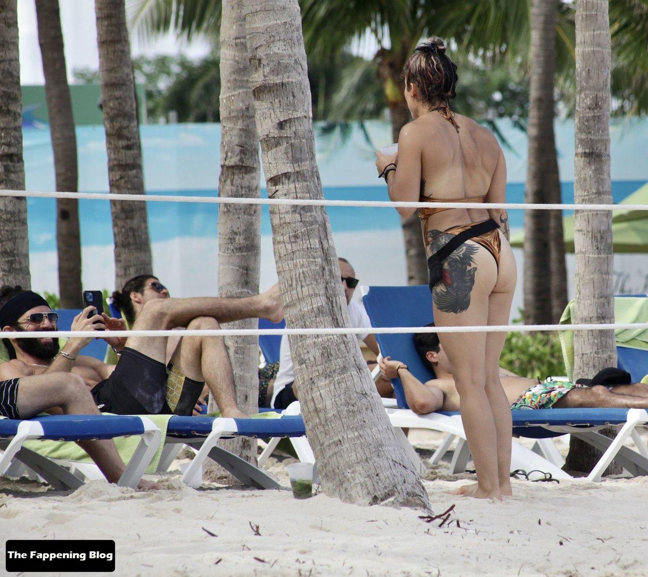 Cara Maria Sorbello on Beach 26