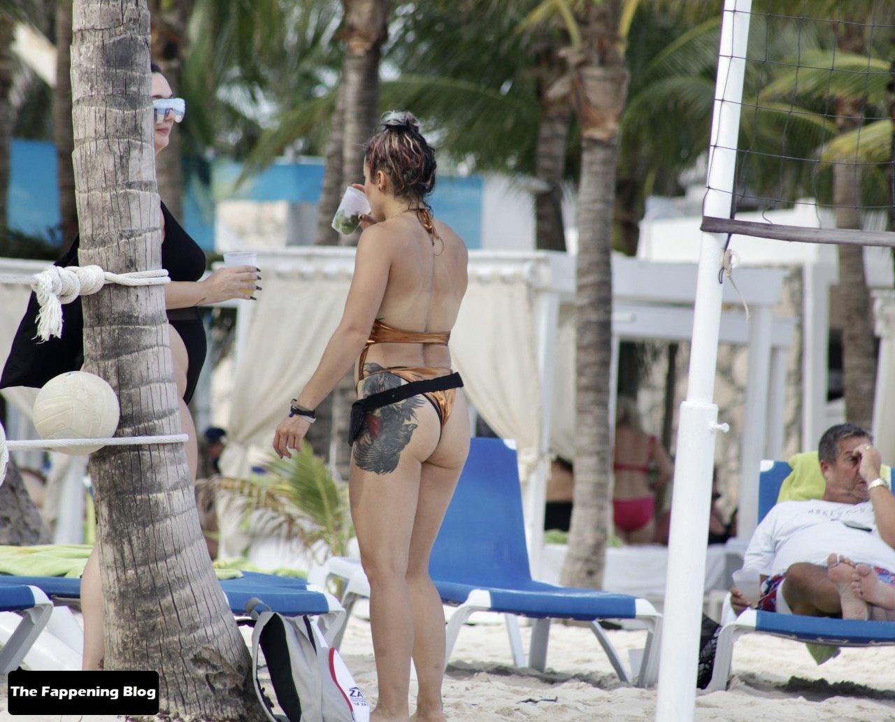 Cara Maria Sorbello on Beach 34