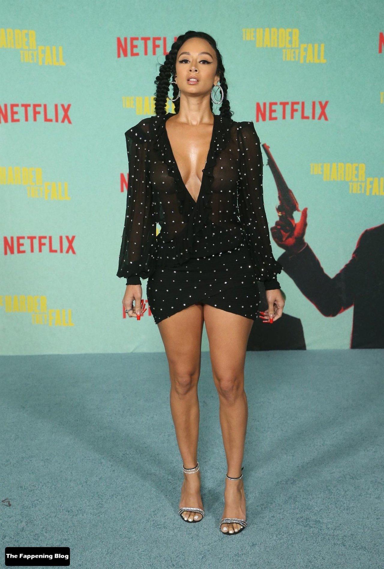 Draya Michele Sexy Tits Legs 4