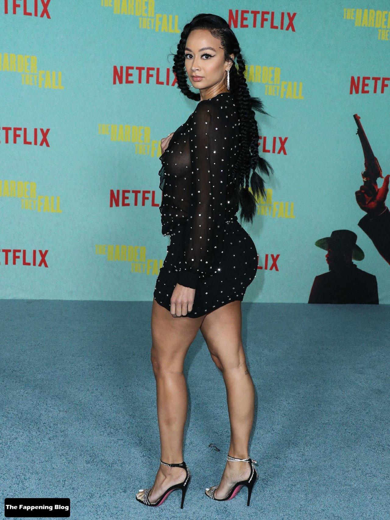 Draya Michele Sexy Tits Legs 9
