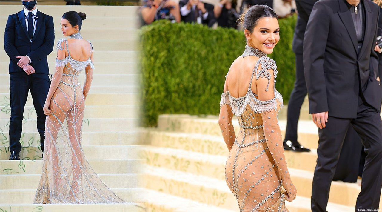 Kendall Jenner Naked Dress 1