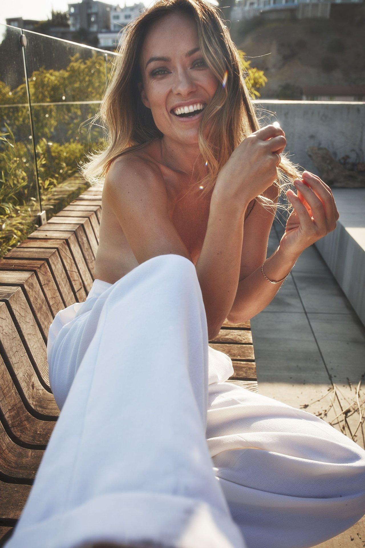 Olivia Wilde Nude Topless 9